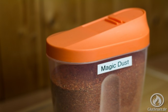 Schüttdosen eignen sich hervorragend zur Aufbewahrung des Rubs