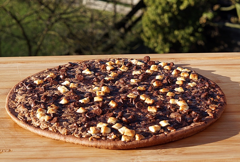Pizza Schokolade