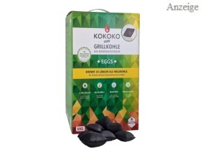 KOKOKO EGGS Premium Grillkohle