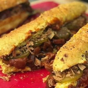 Schweinenacken Sandwich