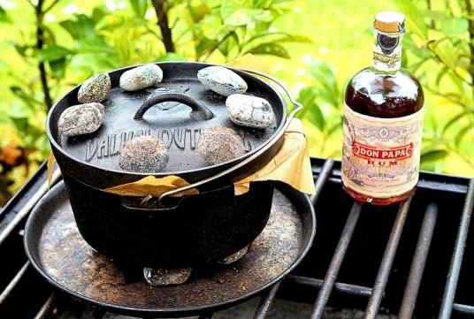 Rumkuchen im Dutch Oven