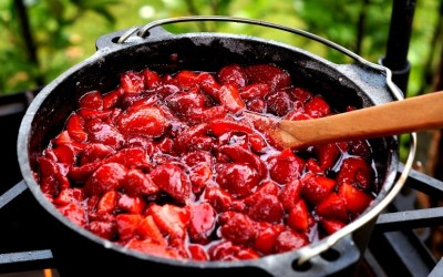 Marmelade aus dem Dutch Oven