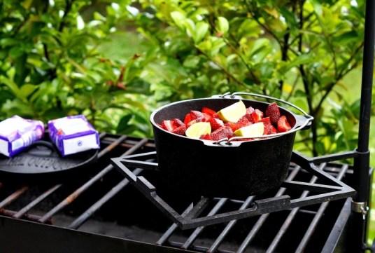 Erdbeeren mit Limette