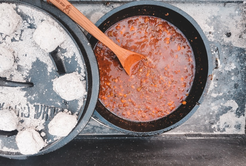 Dutch Oven Bolognese Suppe