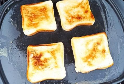 Toast Geröstet