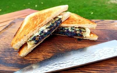 Kohl Sandwich vom Grill
