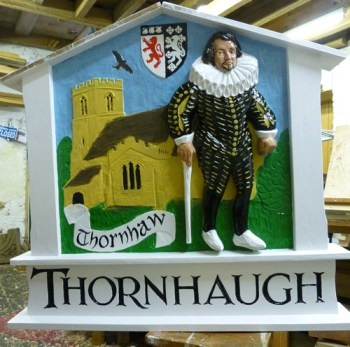 Thornhaugh Village Sign