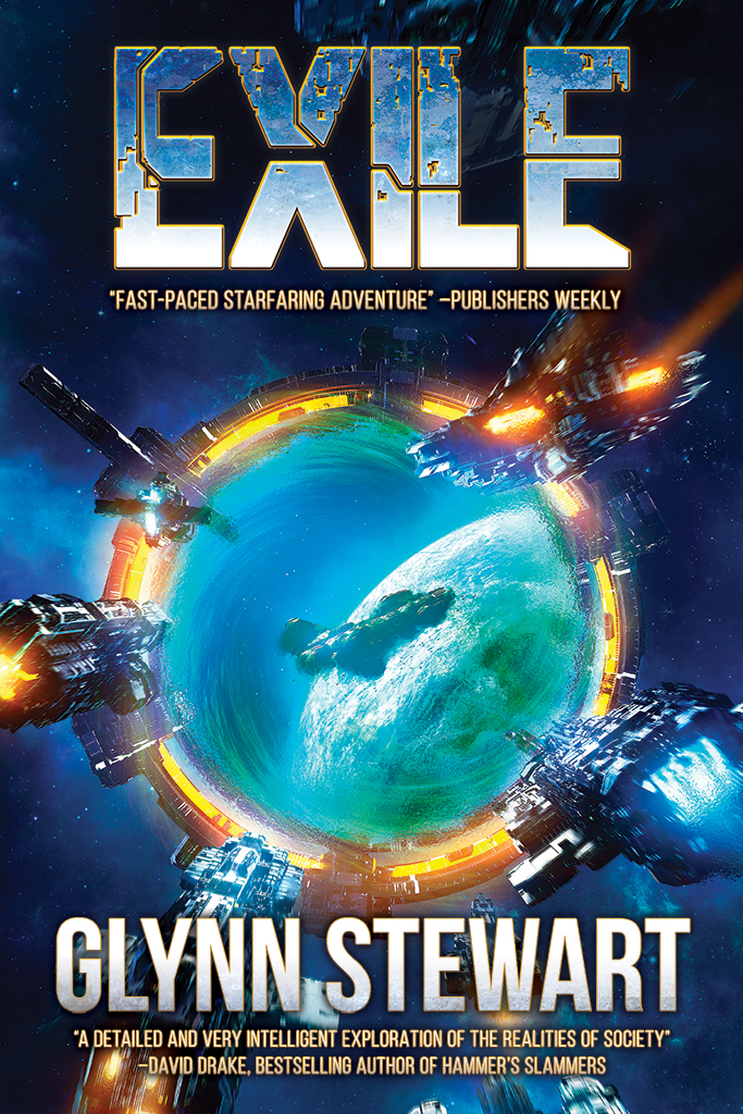 Exile by Glynn Stewart, a space opera epic