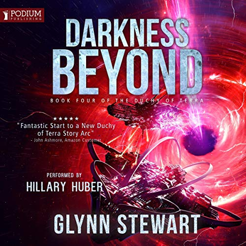 Audiobook version of Darkness Beyond by Glynn Stewart.