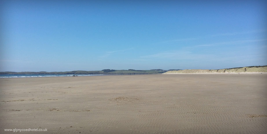 Newborough Forest Beach
