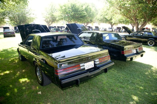 Where else are you going to see this many turbo Buicks in one spot? We'd bet, no where.