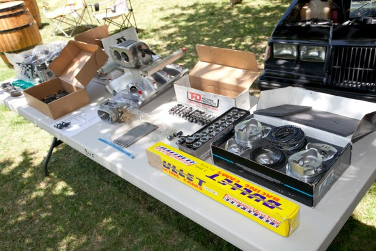 Plenty of vendors made their way to the show, displaying their latest and greatest pieces for your turbo Buick.