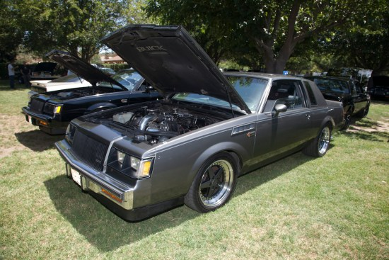 Arturo Sandoval's 1987 Limited is beyond rare with its factory bench seat and column shift options. This rare beauty has made a best pass of 7.21 @ 94 mph in the 1/8th mile thanks to a built motor, a Precision turbo with a billet wheel, plenty of supporting motor mods and other go-fast goodies like a 3800-stall, Hotchkis suspension and a built rearend.