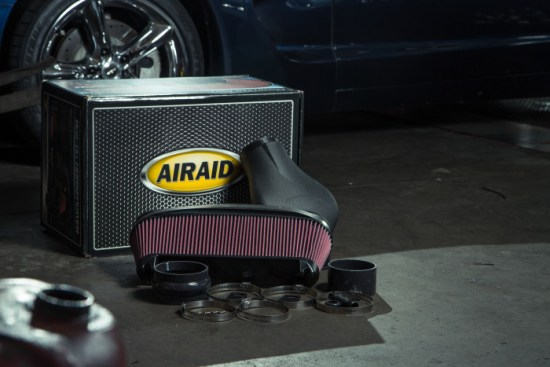 Here is the new Airaid intake we'll be installing on this 2000 Corvette. It's easy to assemble, made with quality parts, features a high-flow gauze filter, and includes all the required hardware to install.