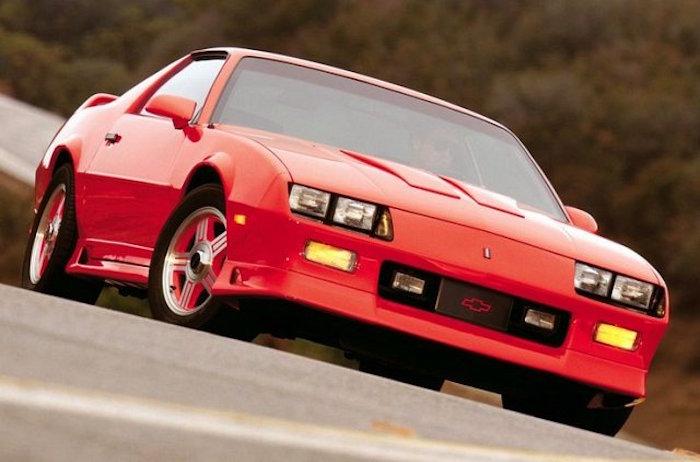 TPI Throttle Body Plate Pontiac GTA Trans am Firebird G Red