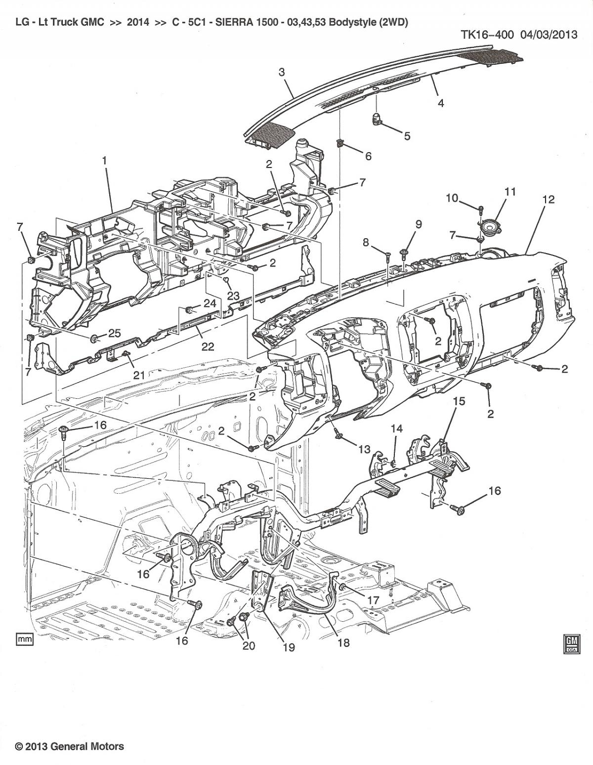 Diagram Chevy Silverado Parts Diagram Full Version