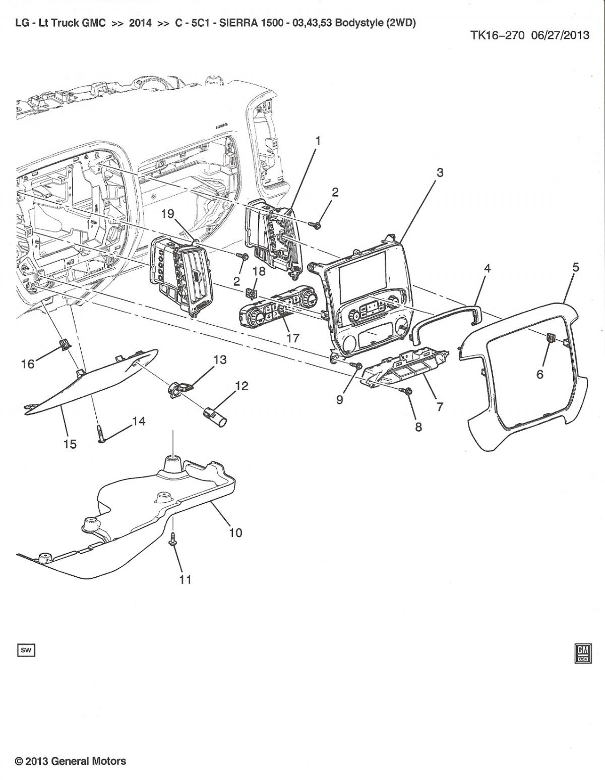Chevy Silverado Parts Diagram Wire Auto Wiring Diagram