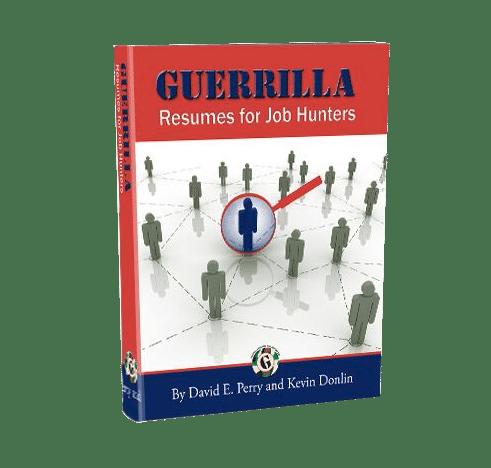 guerrilla marketing for job hunters 3 0 by david perry
