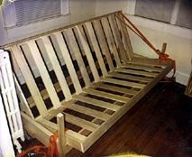 build your own futon frame roselawnlutheran futon sofa bed plans free   okaycreations    rh   okaycreations
