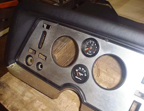 Center gauges in