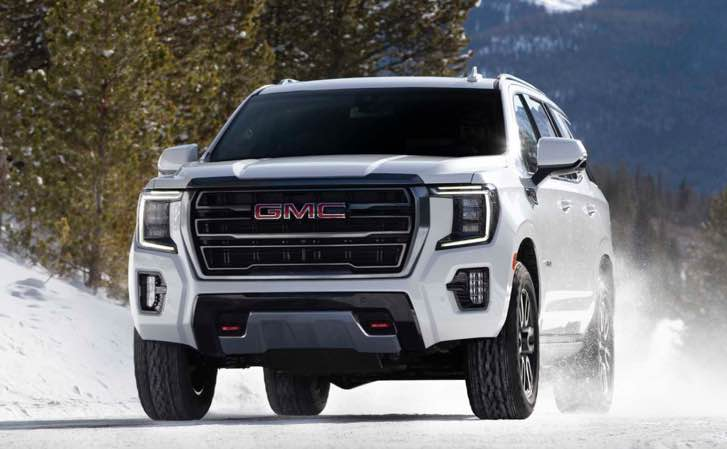Discover the next generation of 2022 GMC Yukon
