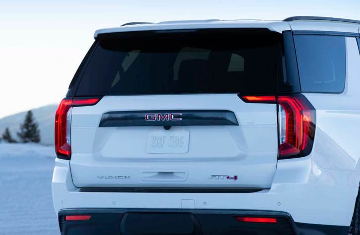 All-new 2022 GMC Yukon at4 bows for 2021 and it rides on a new platform