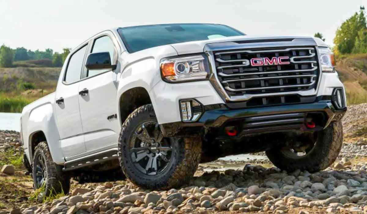 2022 GMC Canyon Redesign