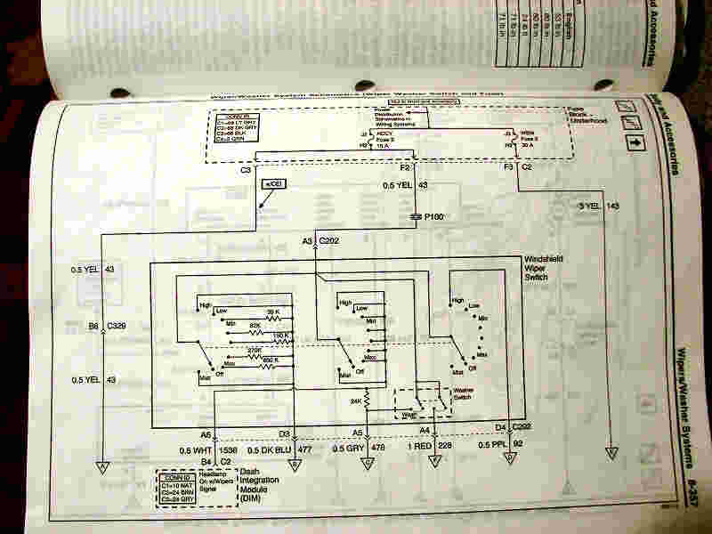 Wiper Motor Diagram