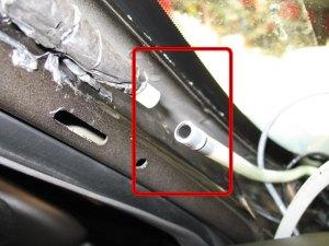 FIX: Sunroof Drain Leaking Into Interior  GM Forum