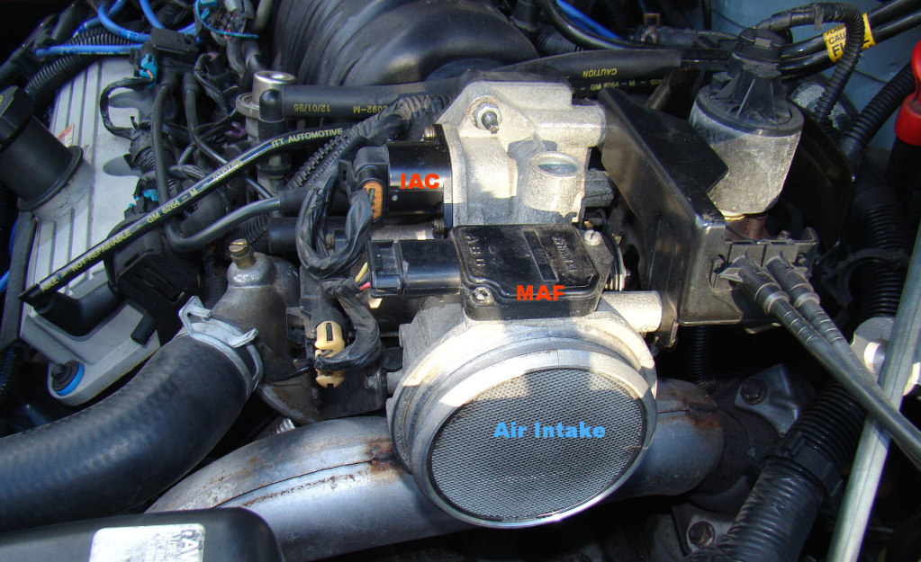 Intake Air Control Cleaning (IAC) On 97 Park Avenue  GM Forum  Buick, Cadillac, Olds, GMC