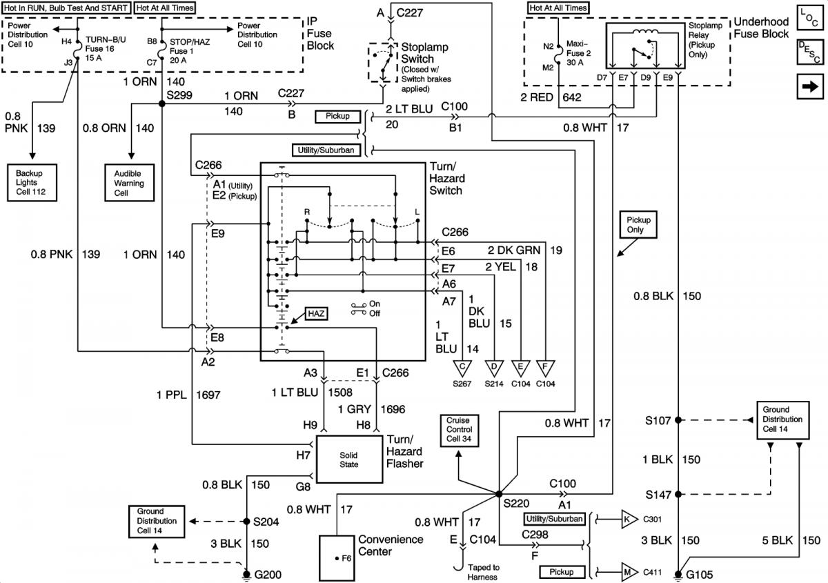 radio wiring diagram for 2001 chevy tahoe