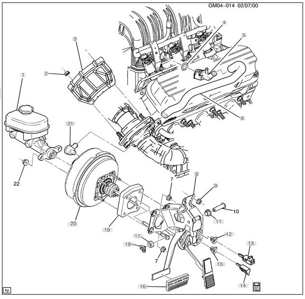 1998 Buick 3800 Supercharged Engine Diagram