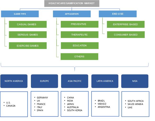 Healthcare Gamification Market Segmentation