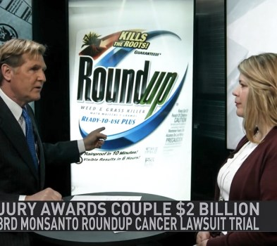 Monsanto Ordered to Pay $2 Billion to Cancer Victims