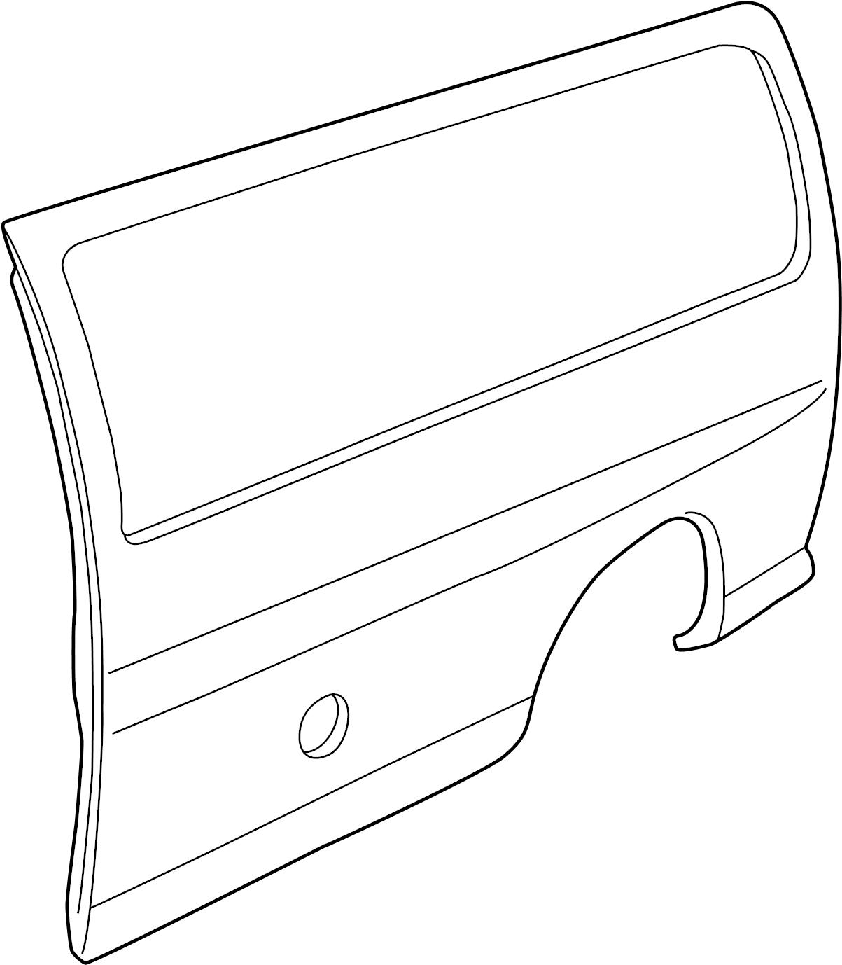 Chevrolet Express Panel Side Panel Chevrolet