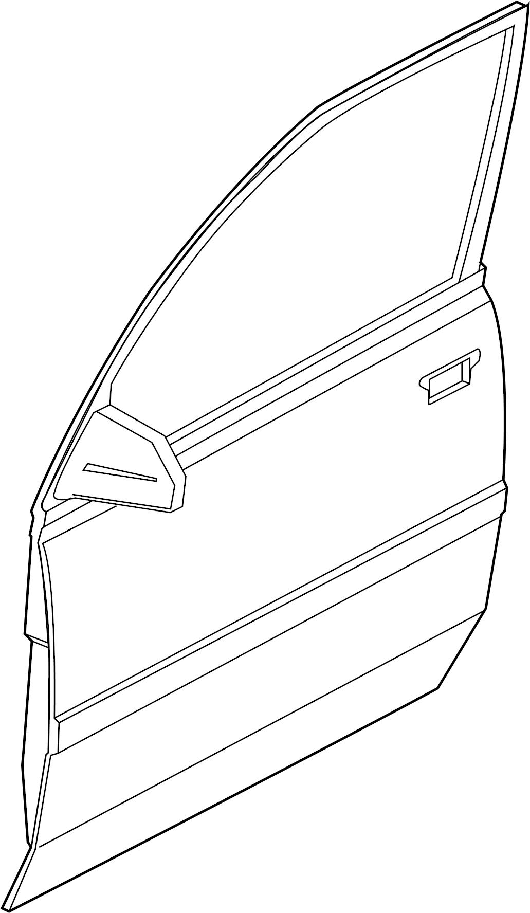 Chevrolet Tracker Mldg F Dc Molding Side Molding 4 Door Standard 4 Door Zr2