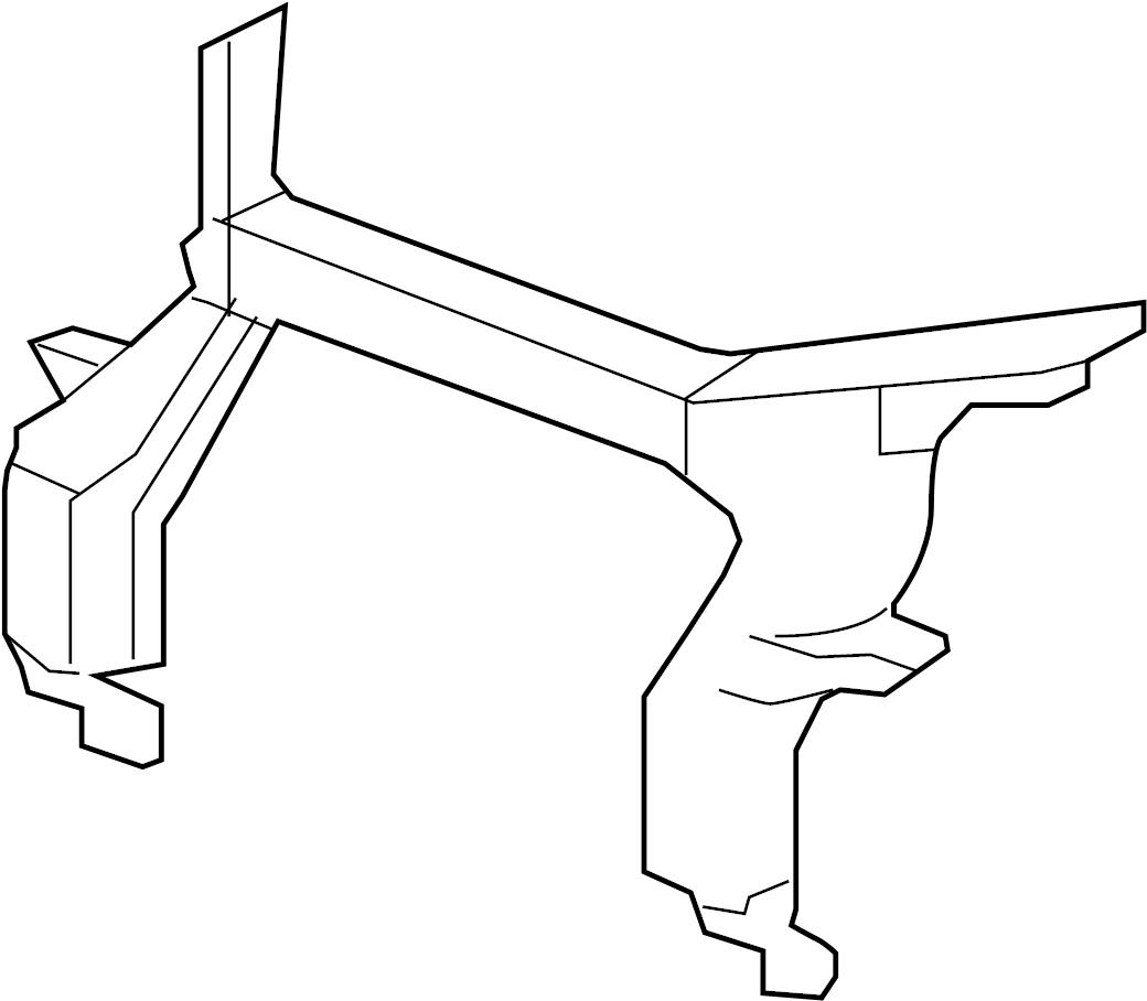 Gmc Acadia Support Upper Tie Bar