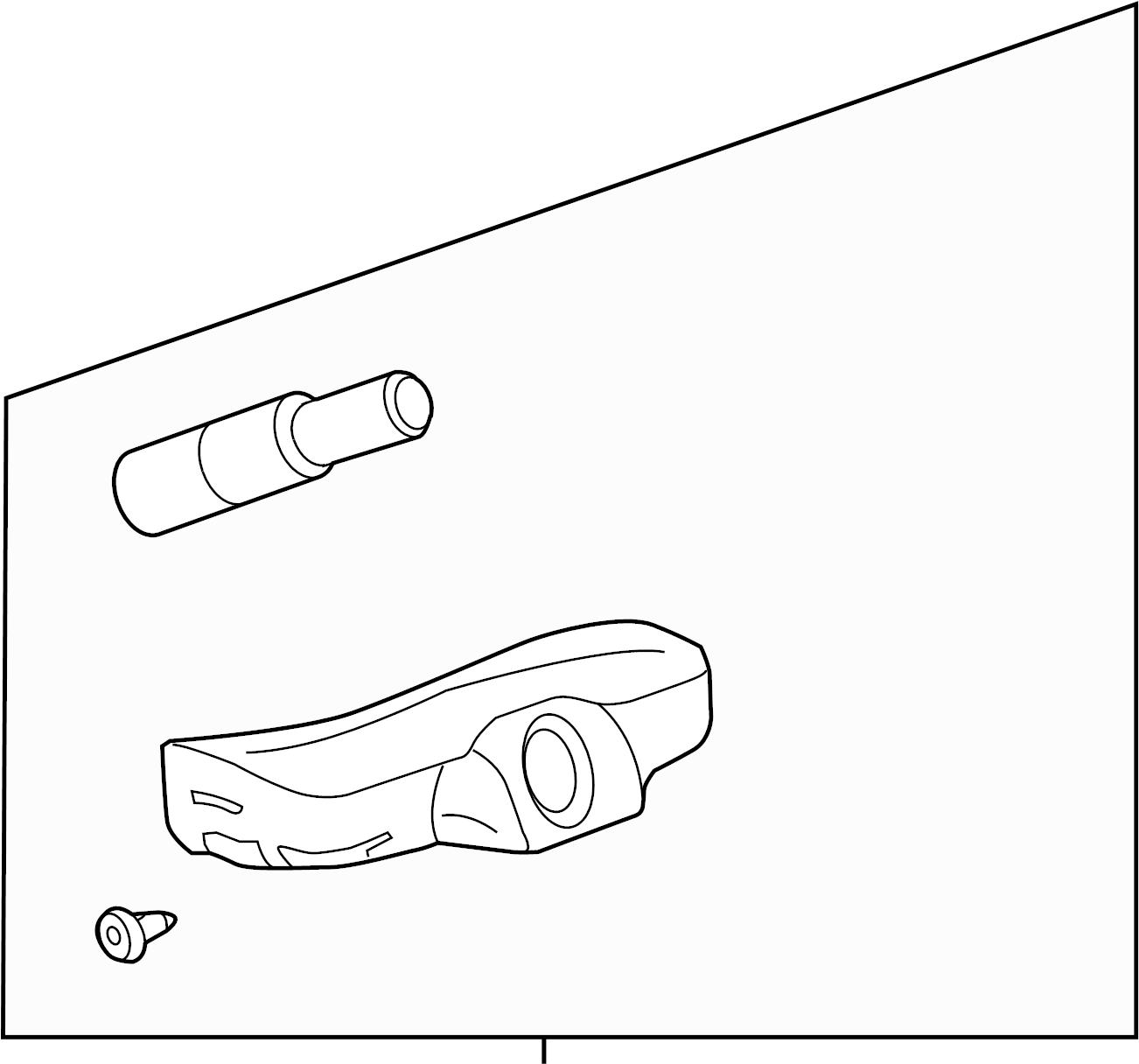 Chevrolet Corvette Sensor Tire Pressure Sensor Tire