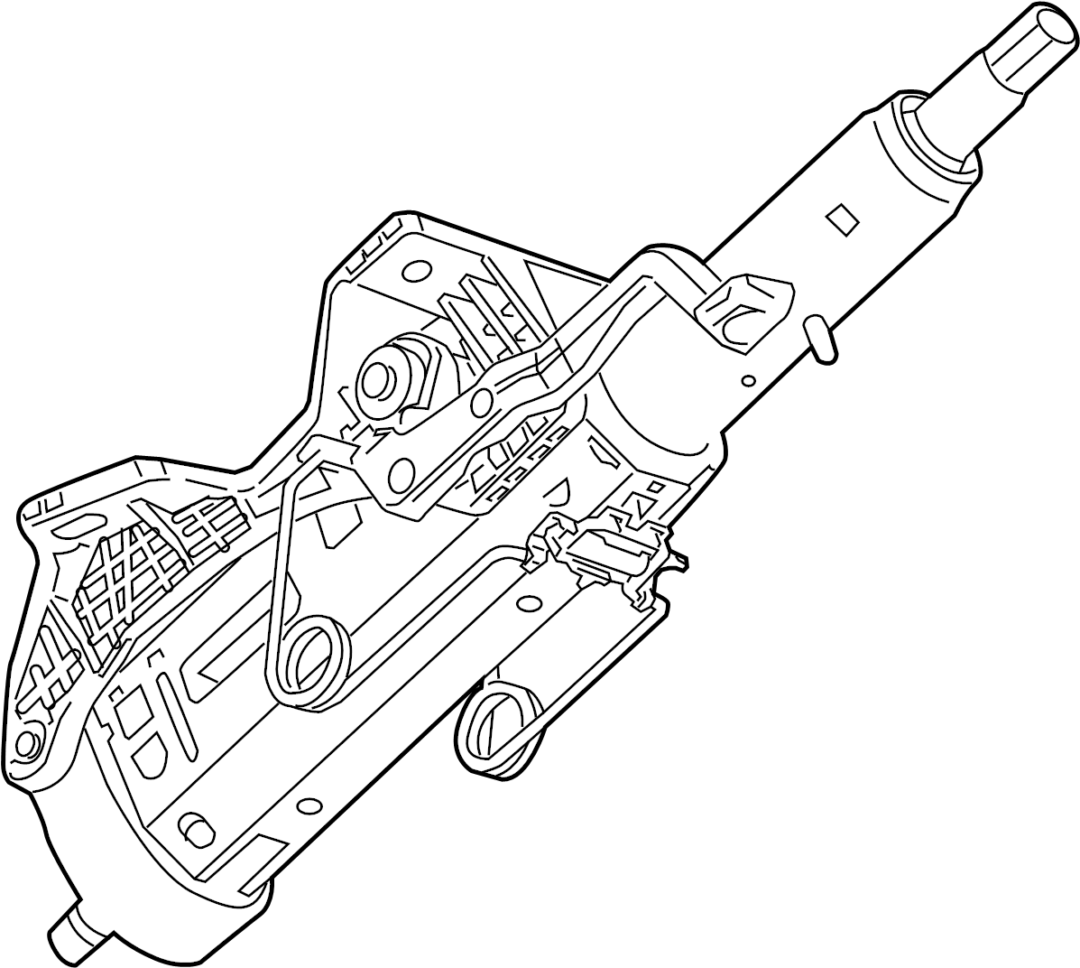 Buick Regal Steering Column Column Assembly