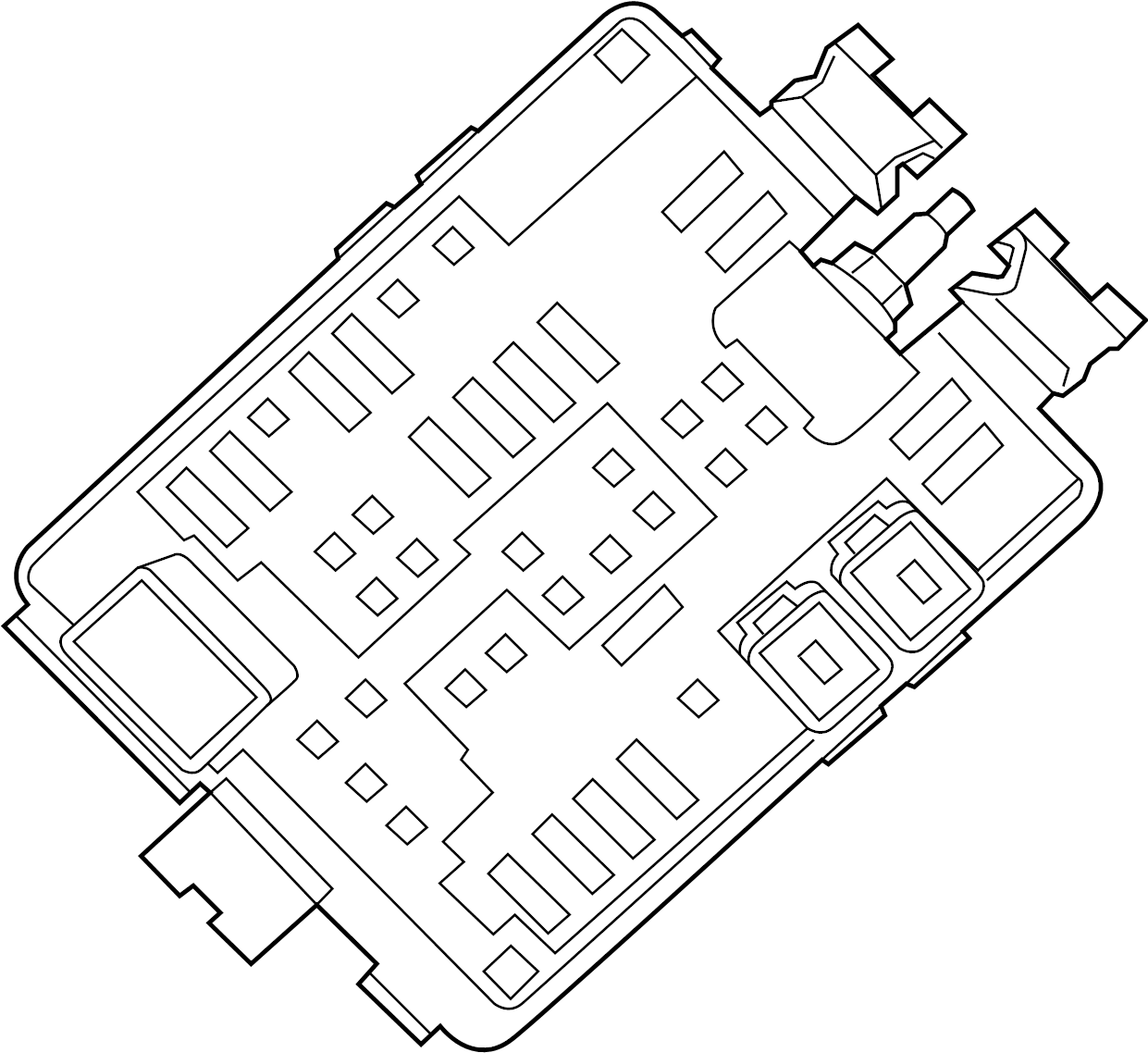 Chevrolet Ss Fuse And Relay Center Body Compartment
