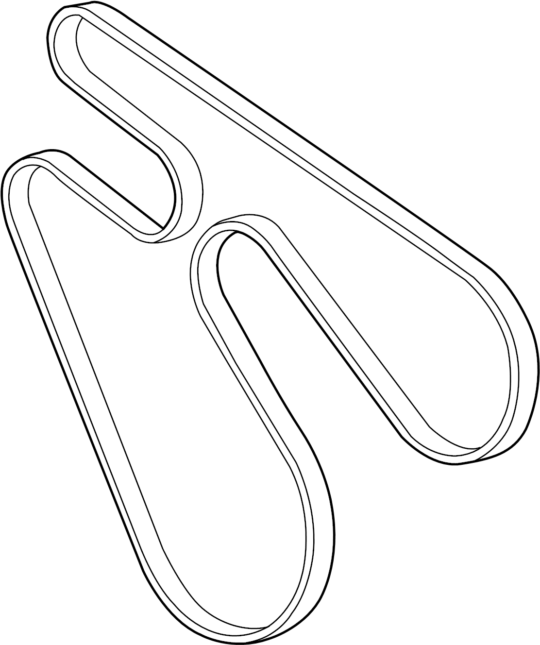 Chevrolet Silverado Serpentine Belt