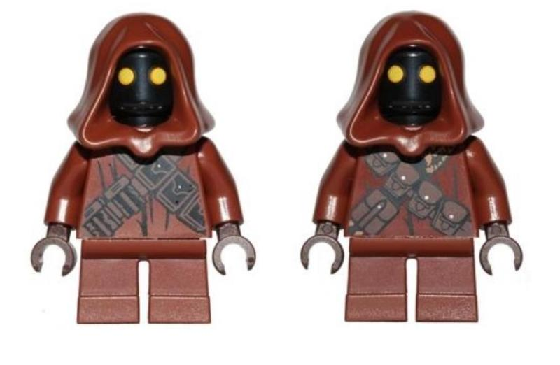 LEGO Star Wars 75136 Droid Escape Pod – Lot of 2 Jawa Minifigures