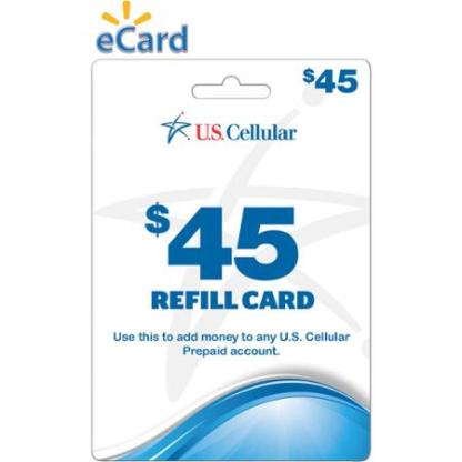 U S  Cellular $45 (Email Delivery)