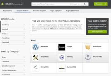 WordPress install Bluehost, MOJO Marketplace