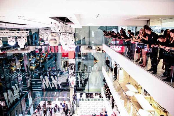 H&M at 589 Fifth Avenue - Four-Story Atrium