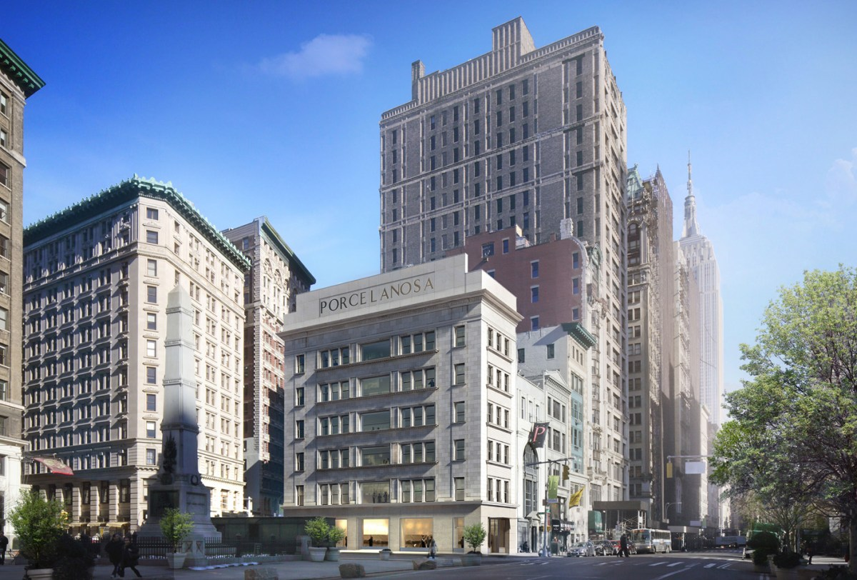 Foster+Partners, Porcelanosa, 202 Fifth Avenue