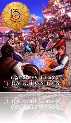 13th Age Candles, Clay & Dancing Shoes