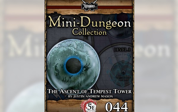 The ascent of Tempest Tower – 5E Mini-Dungeon RPG Review