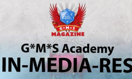 In medias res: The G*M*S RPG Academy