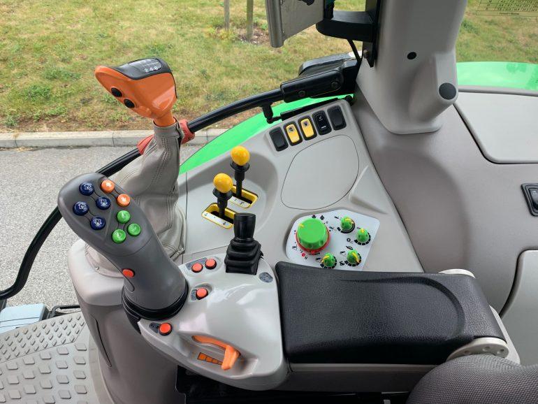 John Deere Inside Cab Controls